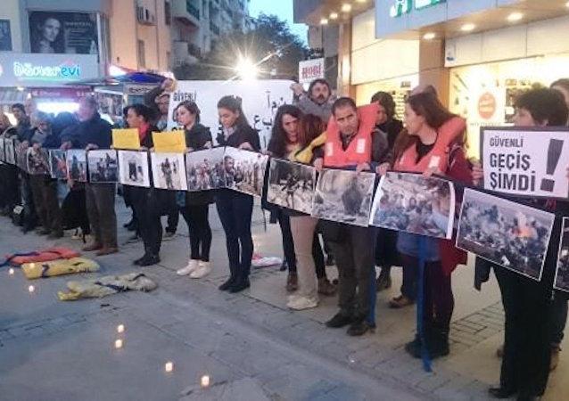 28 ülke, 115 şehirde sığınmacılar için eylem düzenlendi