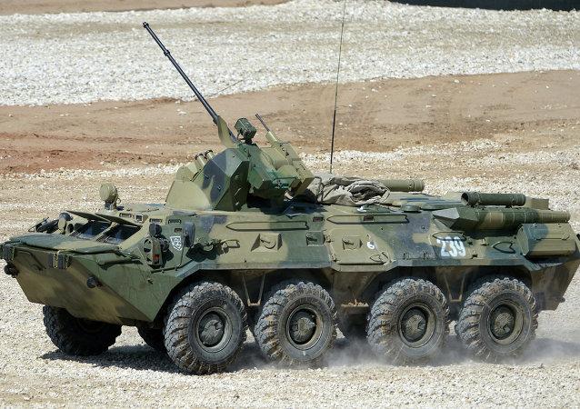 BTR-82A zırhlı personel taşıyıcı