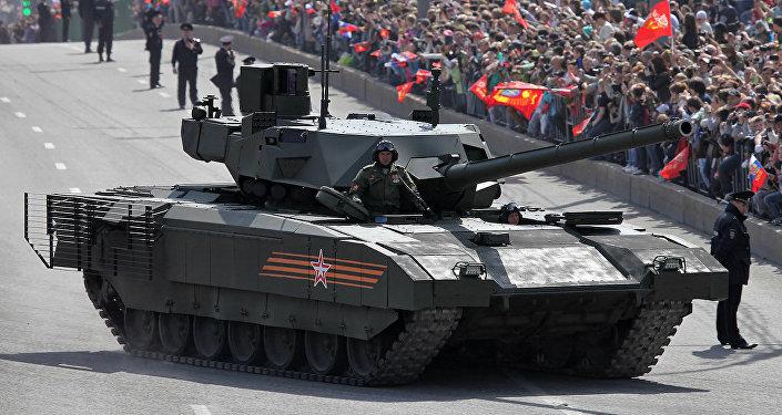 Armata T-14 tankı