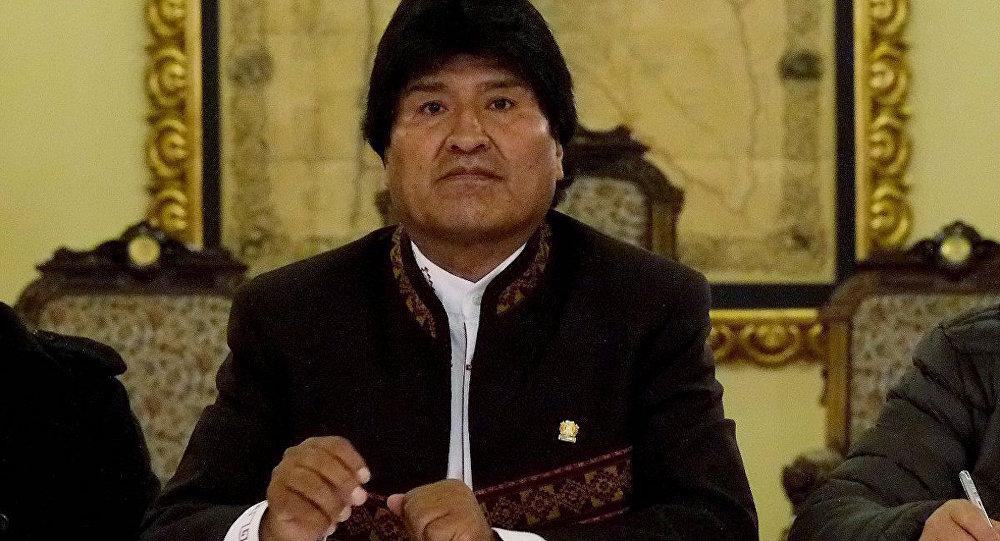 Bolivia Devlet Başkanı Evo Morales