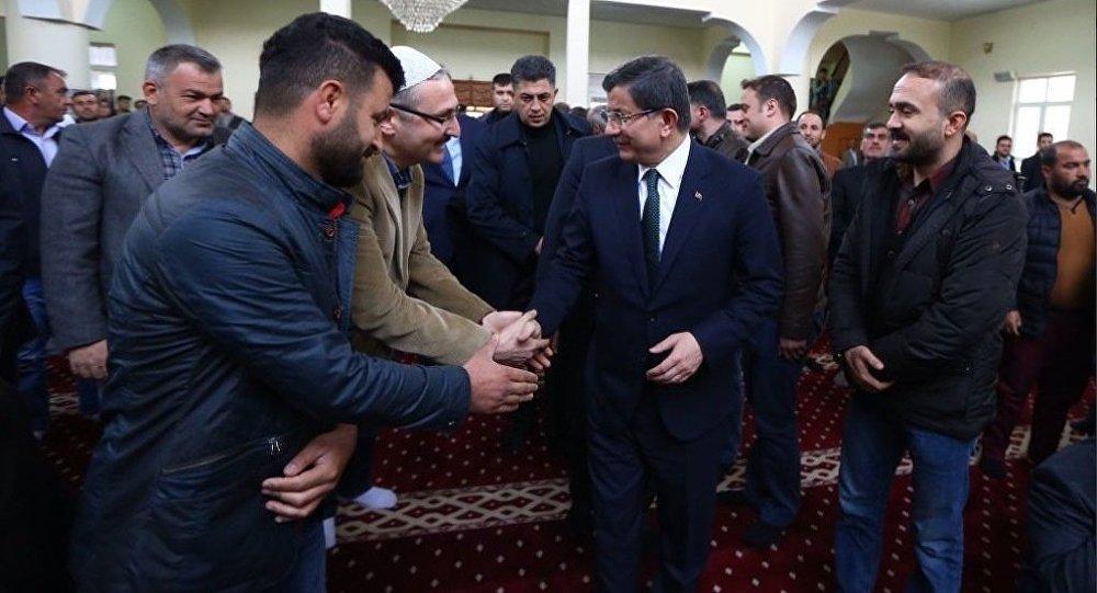Başbakan Ahmet Davutoğlu Silopi'de