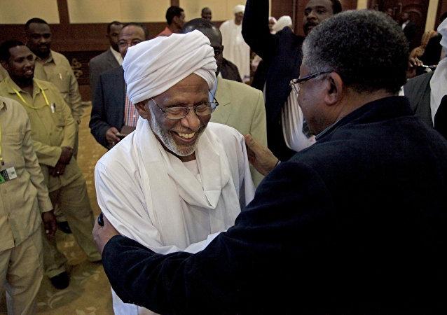 Sudan Halk Kongresi Partisi lideri Hasan Turabi