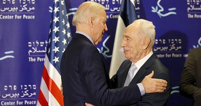 Joe Biden - Şimon Peres