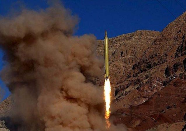 İran balistik füze denemesi gerçekleştirdi.