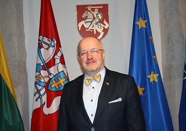Litvanya Savunma Bakanı Juozas Olekas