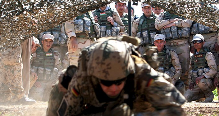 ABD askeri - Irak - Peşmerge