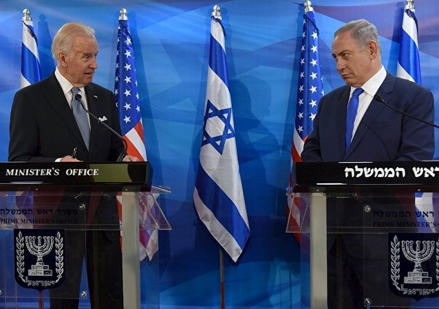 ABD Başkan Yardımcısı Joe Biden- İsrail Başbakanı Benyamin Netanyahu
