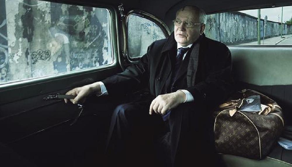 Gorbaçov, Luis Vuitton reklamında