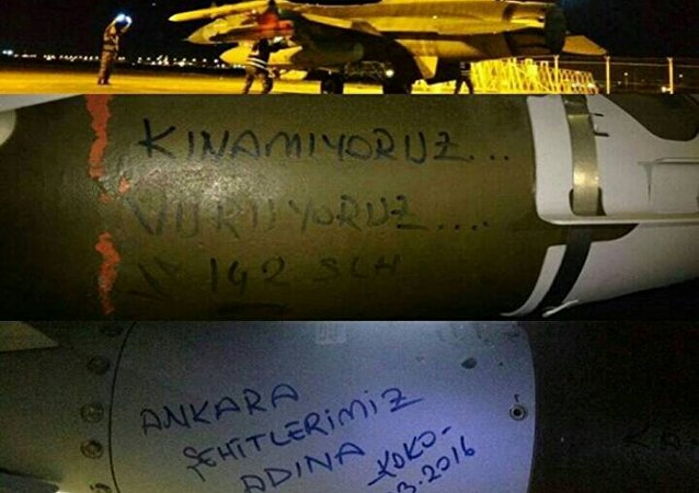 Hava Kuvvetleri'nden bombaların üzerinden PKK'ya mesaj