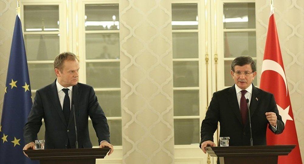 Ahmet Davutoğlu - Donald Tusk