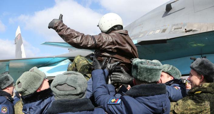 Rus uçağı Su-34