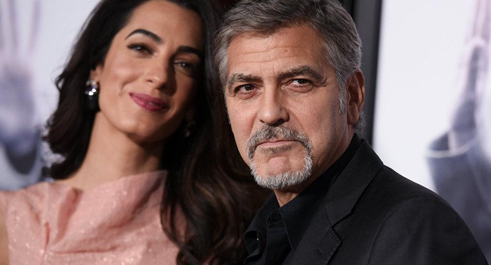 Amal Clooney- George Clooney