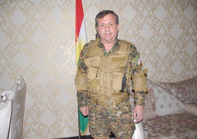 Irak Kürdistan Bölgesel Yönetimi'nin (IKBY) savunma gücü Peşmerge saflarında savaşan Almanya vatandaşı Sait Çürükkaya