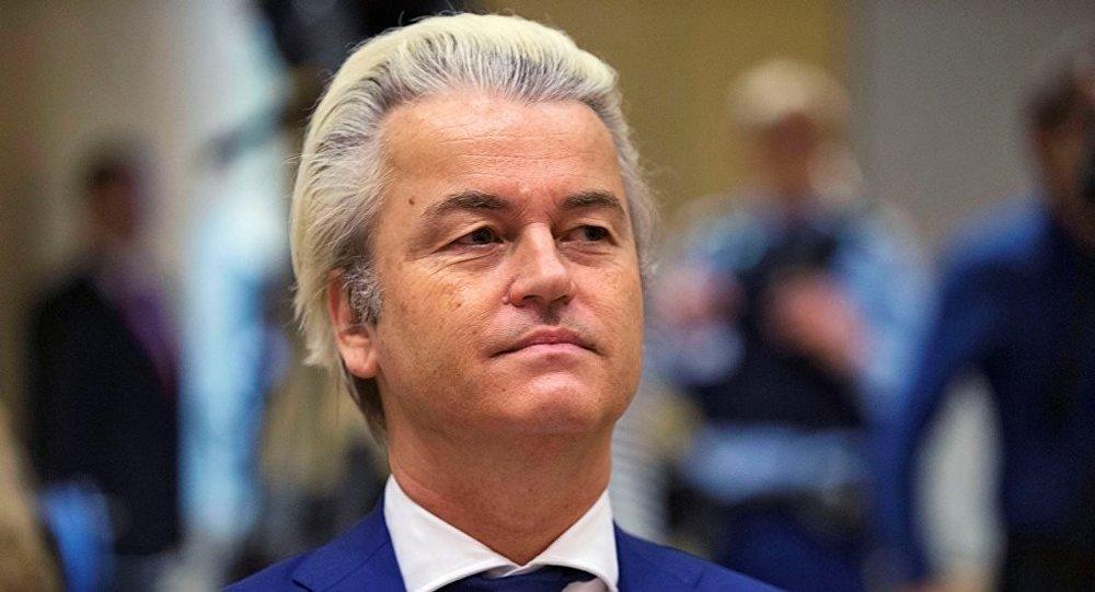 Hollandalı aşırı sağcı Özgürlükler Partisi (PVV) lideri Geert Wilders