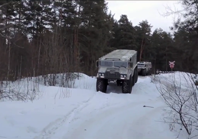 Rusya'nın yeni aracı Burlak, Kuzey Kutbu için hazır