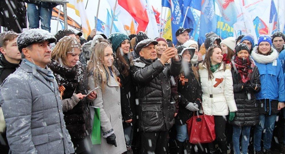 Tataristan'da Kırım kutlaması
