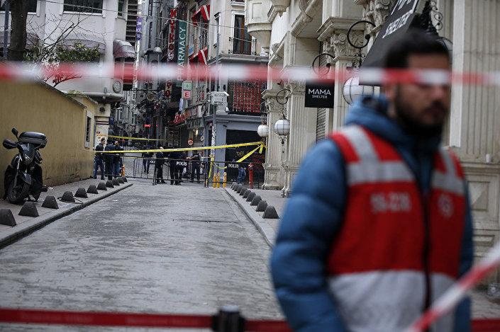 İstiklal Caddesi'ndeki saldırının ardından güvenlik önlemleri artırıldı.
