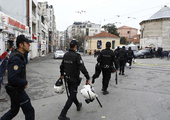 Taksim'de patlama