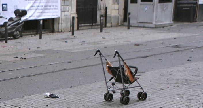 Saldırının ardından İstiklal Caddesi