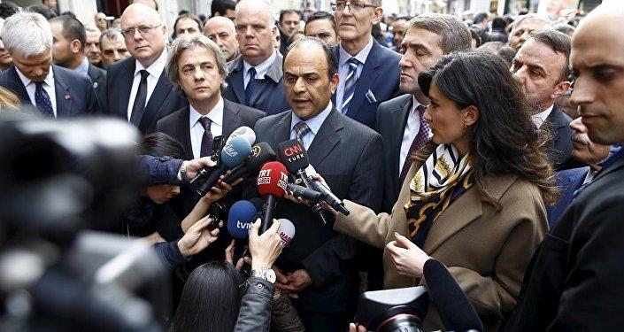 İsrail İstanbul Başkonsolosu Shai Cohen, İstiklal Caddesi'nde canlı bomba saldırısına ilişkin açıklama yaptı.