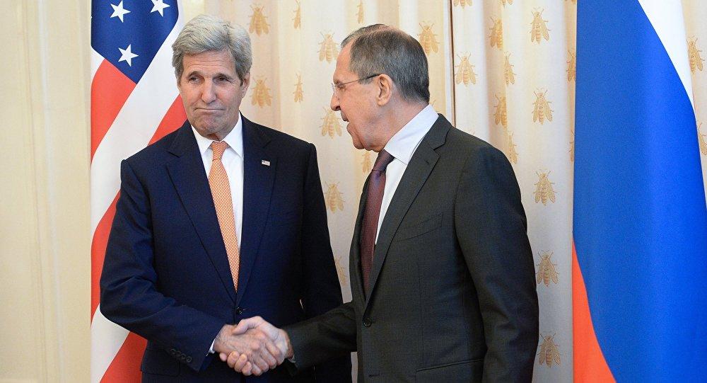 ABD Dışişleri Bakanı John Kerry ve Rus mevkidaşı Sergey Lavrov