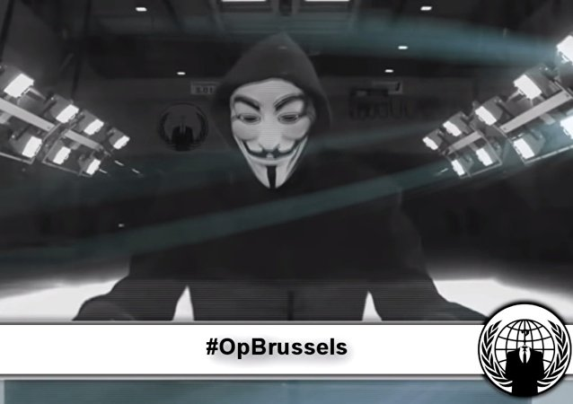 Anonymous'tan Brüksel Operasyonu