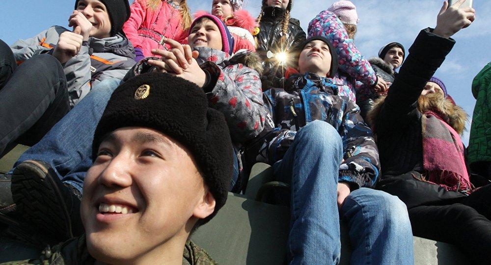 Rus çocuklar