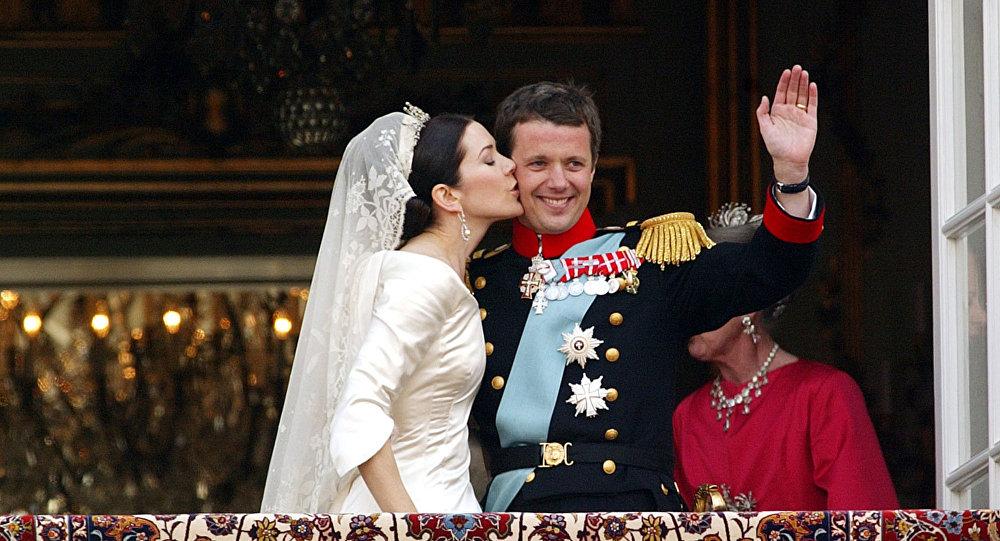 Danimarka Veliaht Prensesi Mary ve Veliaht Prensi Frederik