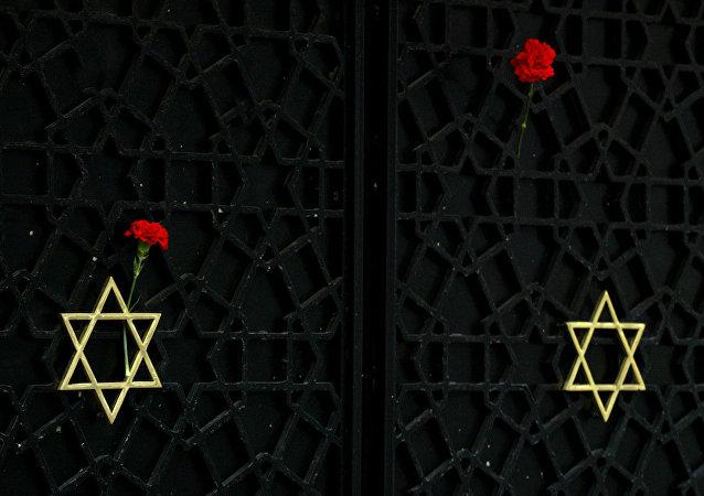 15 Kasım 2005'te saldırıya uğrayan Neve Şalom sinagogu
