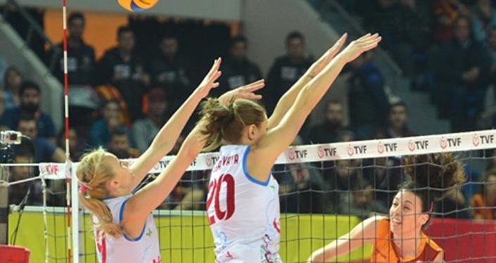 Galatasaray Daikin- Dinamo Krasnodar voleybol maçı
