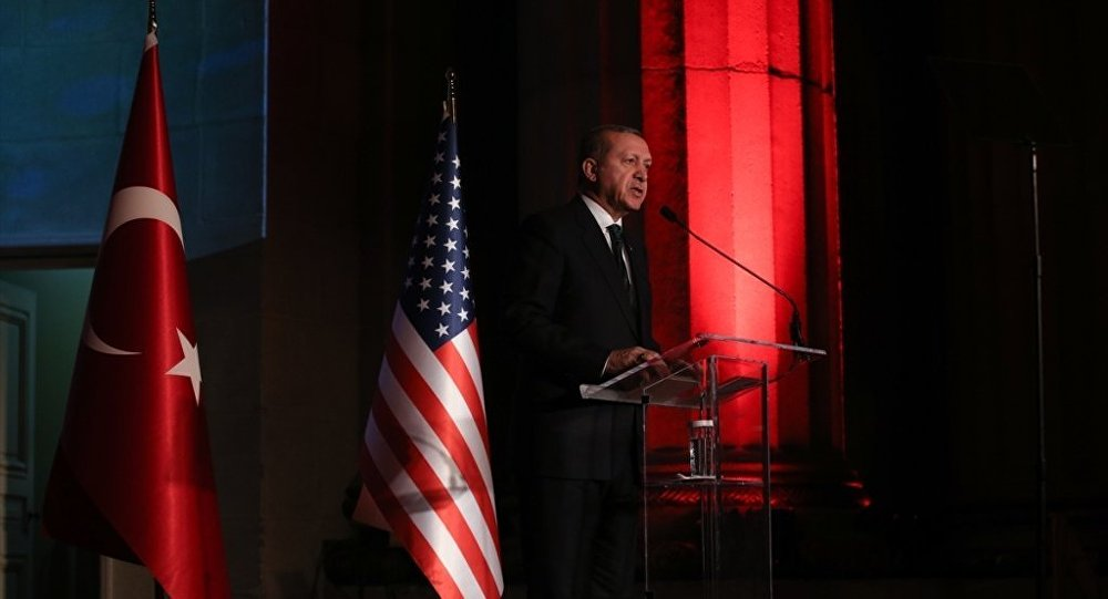 Cumhurbaşkanı Recep Tayyip Erdoğan ABD'de