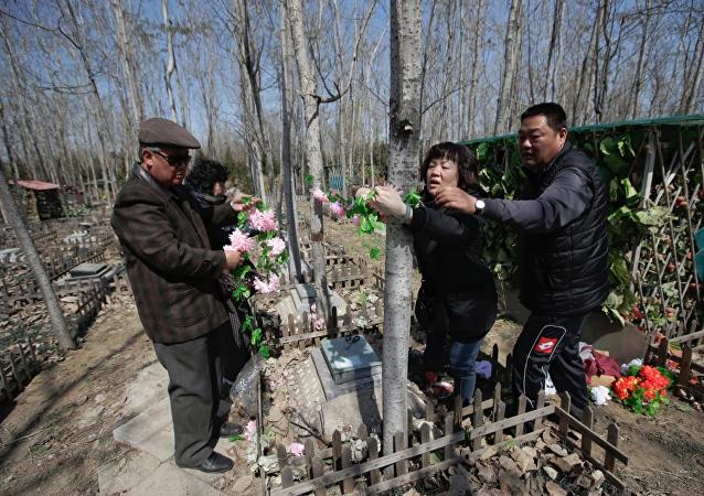 Çin'de hayvan mezarlığı