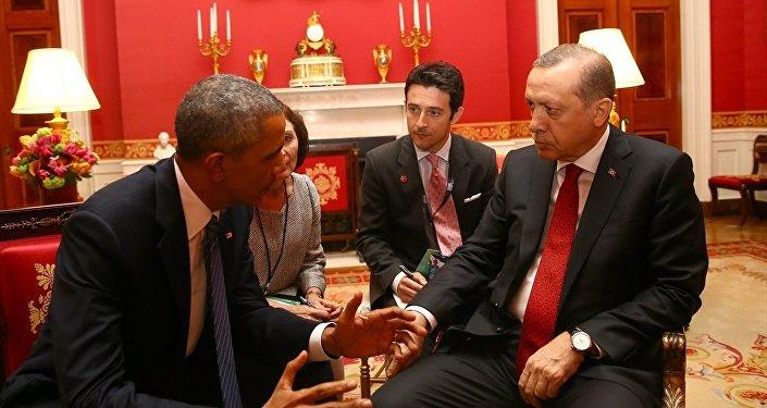 ABD Başkanı Barack Obama- Türkiye Cumhurbaşkanı Recep Tayyip Erdoğan