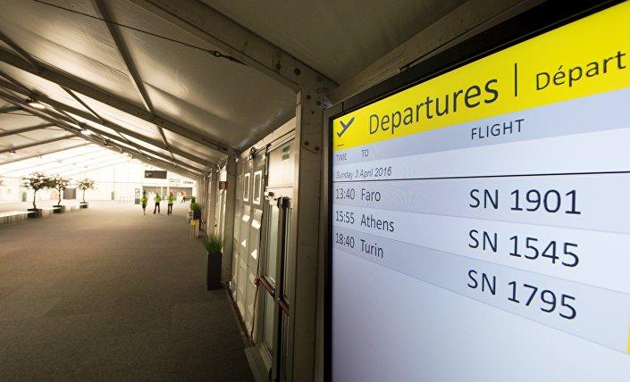 Zaventem Havaalanı, saldırıdan 12 gün sonra ilk yolcularını ağırladı.