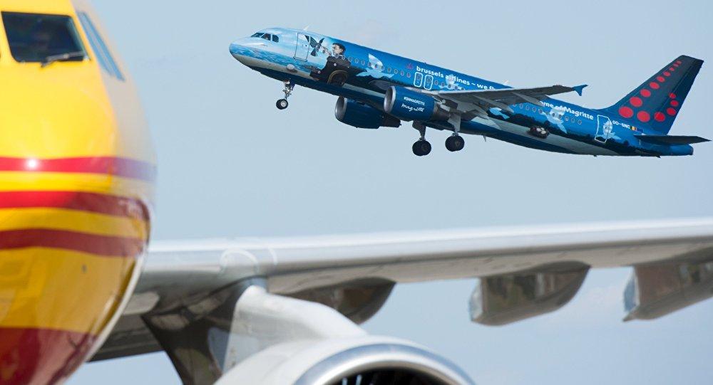 Zaventem Havaalanı'ndan ilk uçuş