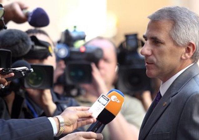 Avrupa Birliği'nin Rusya Büyükelçisi Vigaudas Uşatskas