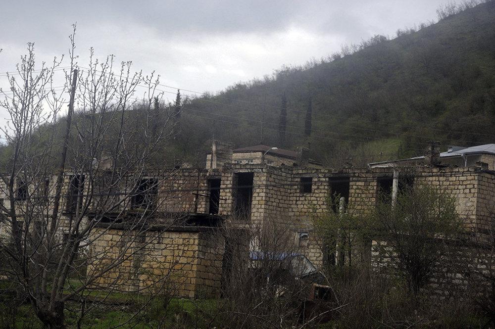 Karabağ'daki Madagiz kasabası