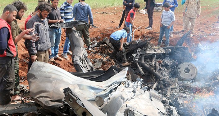 Suriye jeti Haseke'de düşürüldü