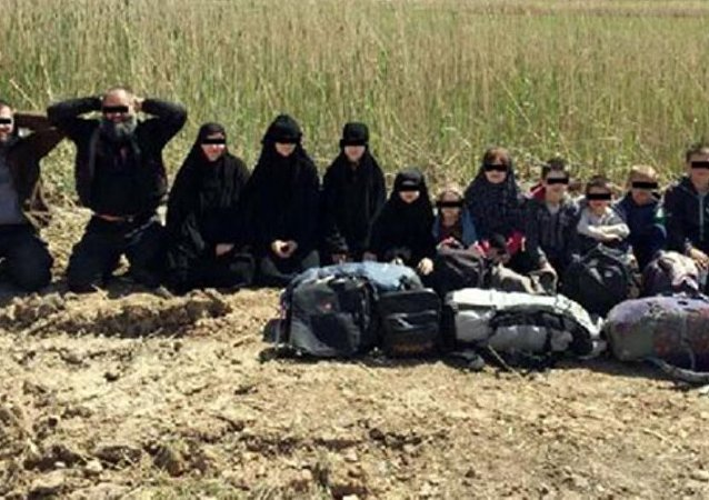 Gaziantep'te 4 IŞİD'li 7 çocuğuyla cezaevine girdi.
