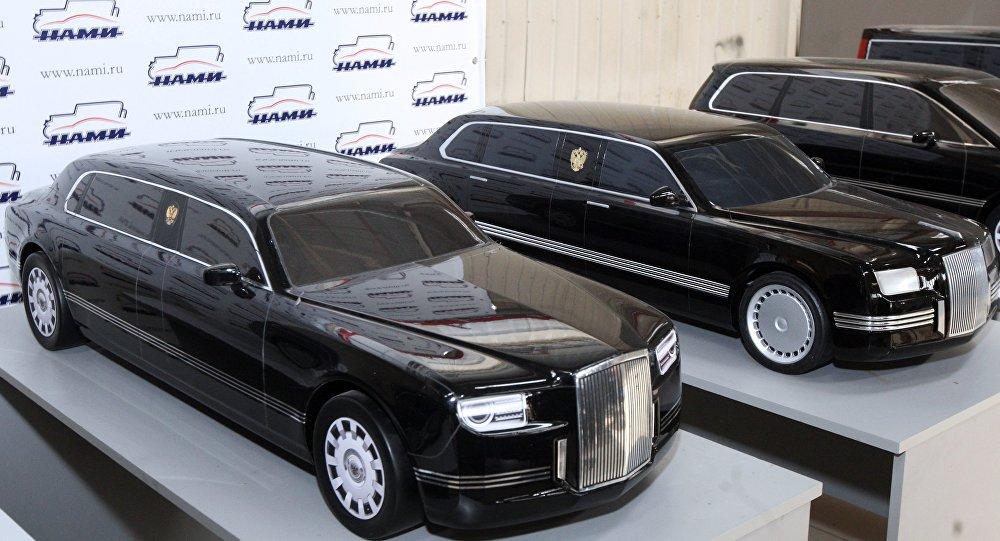 Putin'in Rus yapımı yeni limuzini