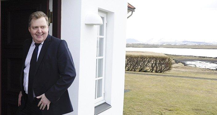 İzlanda'nın istifa eden Başbakanı Sigmundur David Gunnlaugsson