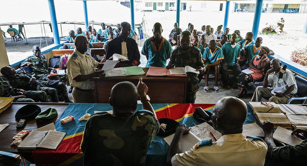 Orta Afrika Cumhuriyeti'nde bulunan MINUSCA barış gücü misyonunda görev yapan 3 Kongolu askerin yargılanmasına başlandı.