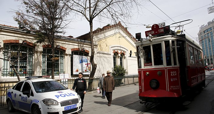 İstiklal Caddesi - Fransa Başkonsolosluğu - Fransız Kültür Merkezi
