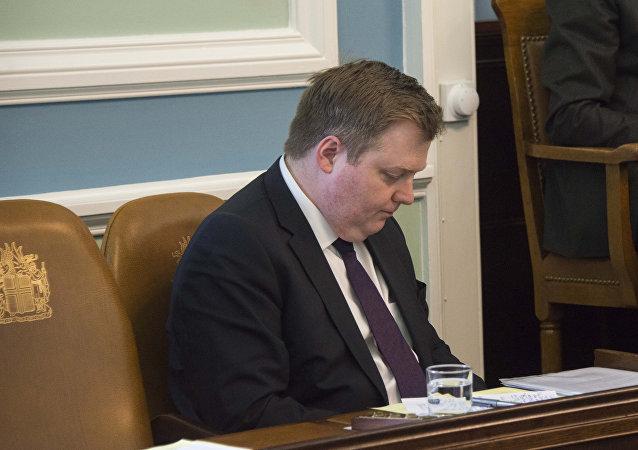 İzlanda Başbakanı Sigmundur David Gunnlaugsson