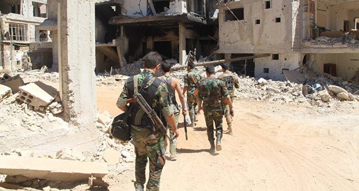 Suriye ordusu askerleri