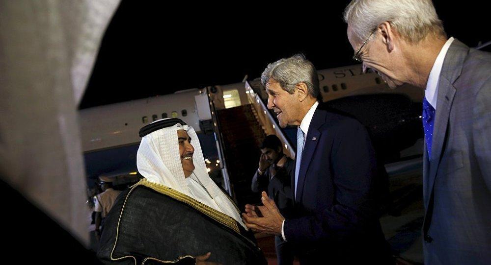 ABD Dışişleri Bakanı John Kerry Bahreyn'de