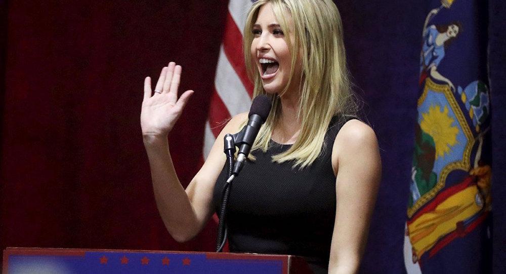 Donald Trump'ın kızı Ivanka Trump