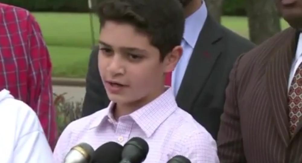 Terörist olmakla suçlanan 12 yaşındaki Müslüman öğrenci Waleed Abushaaban