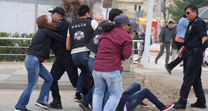 Ankara protesto