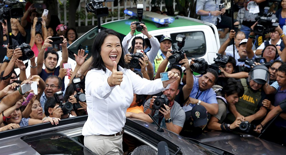 Peru'da devlet başkanlığı adayı Keiko Fujimori